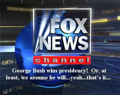 Fox Jumps the Gun on Bush Election