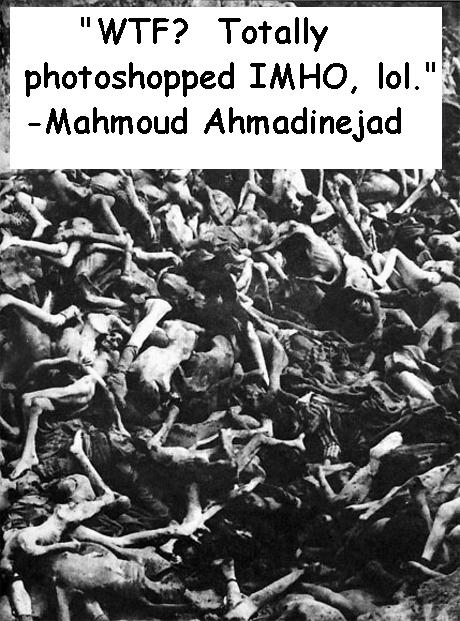 Holocaust According to Ahmadinejad