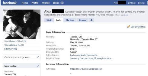 alex facebook