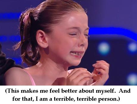 britain's got talent hollie crying