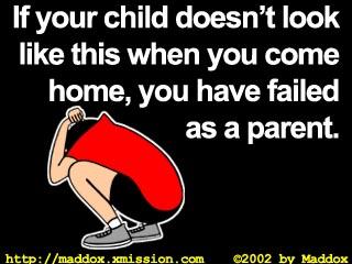 failed as a parent