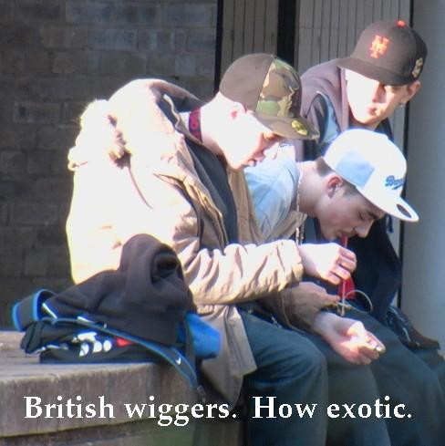 british punk chav hoodie
