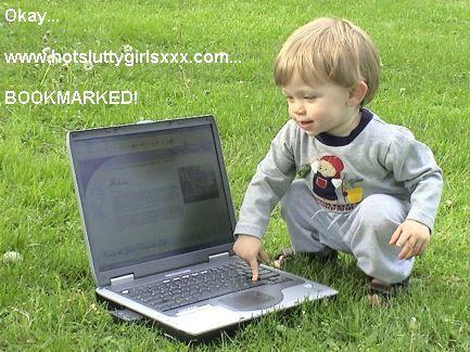 kid on internet