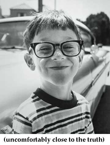 nerdy kid
