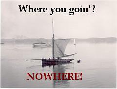 stranded sailboat
