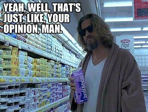 opinion the dude big lebowski