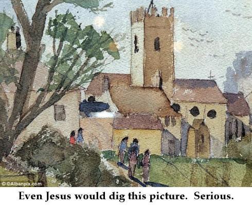 kieron williamson painting