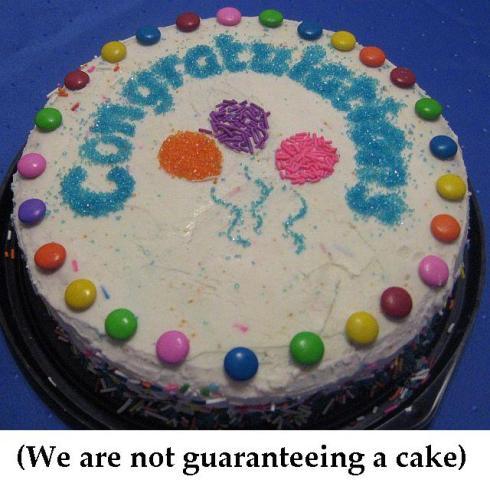 reader appreciation cake