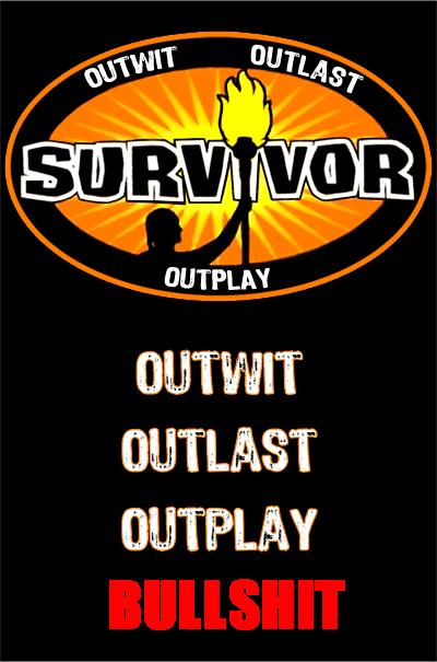 survivor not real