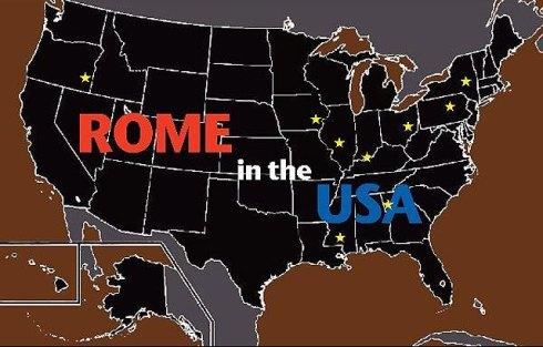 united states versus rome