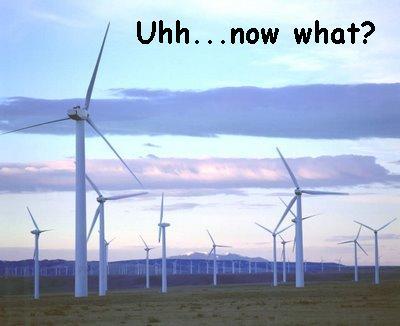 wind farm not working