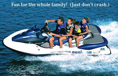 sea doo family water sports