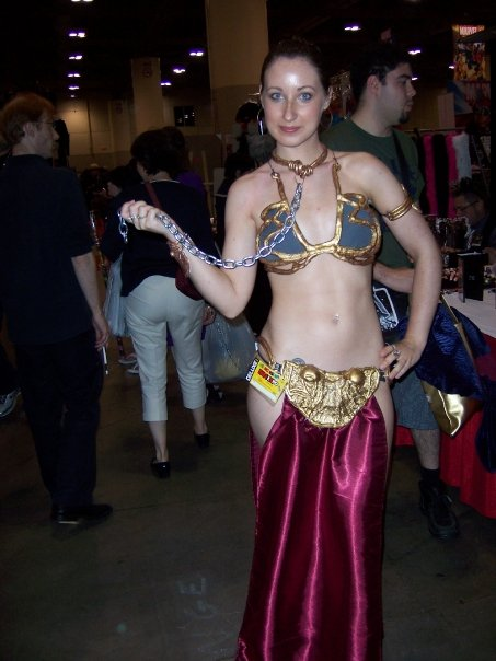 slave leia fan expo