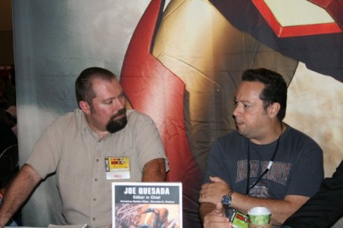 joe quesada marvel comics fan expo