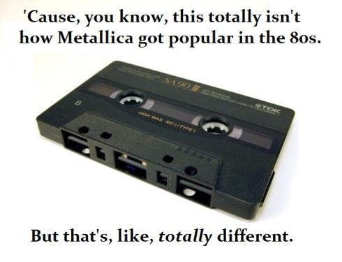 stealing music