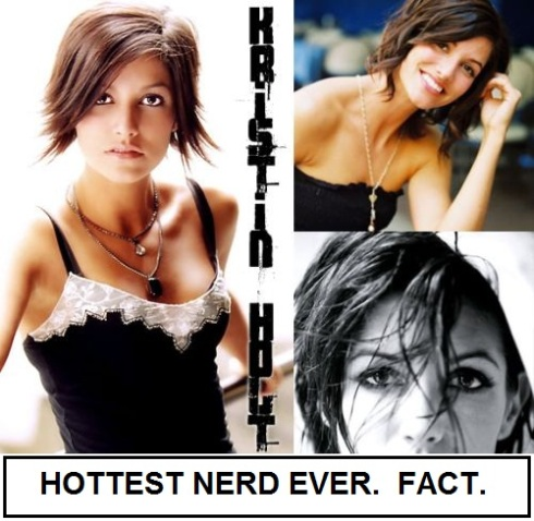 kristen holt g4 hot nerd. I said before that I was once a nerd.