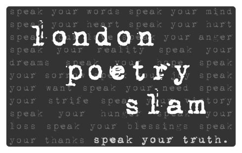 london poetry slam