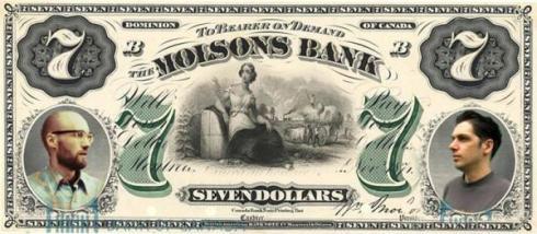 seven dollar bill