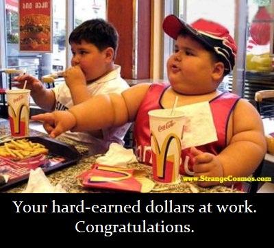 mcdonalds fat kid