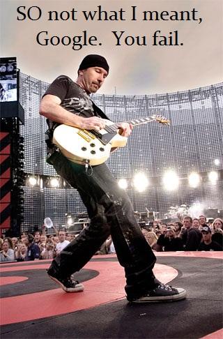 the edge U2